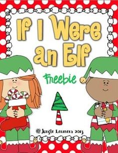 "Let your students imaginations roam free with this freebie! ""If I Were an Elf"" is perfect for centers or small groups. Students can either draw p. Writing Activities, Classroom Activities, Classroom Ideas, Preschool Bulletin, Classroom Freebies, Language Activities, Therapy Activities, Future Classroom, Preschool Activities"