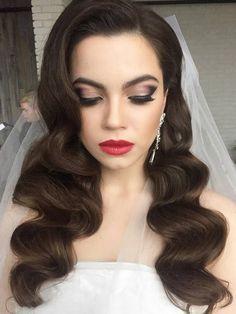 Gallery: Long wedding hairstyles and wedding updos from Websalon Weddings - Deer Pearl Flowers / http://www.deerpearlflowers.com/wedding-hairstyle-inspiration/llong-wedding-hairstyles-and-wedding-updos-from-websalon-weddings-2/