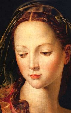 Agnolo Bronzino ( 1503 - 1572 ) detail of The Madonna and Child with the Infant St. John the Baptist. Renaissance Kunst, Renaissance Portraits, Renaissance Paintings, Madonna And Child, John The Baptist, Sacred Art, Christian Art, Religious Art, Beautiful Paintings