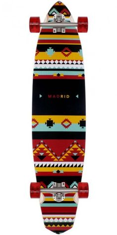Madrid The Dude - Africa Longboard Skateboard Complete