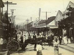 King Street looking North, Kingston Jamaica, ca 1900