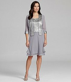 Le Bos Textured Jacket Dress for mother of the bride?