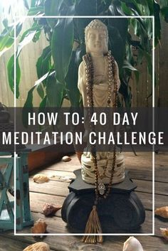 Learn the how & why behind mantra meditation practice. Join me for 40 days of intention setting and change!  Meditate! I love doing it as part of my morning routine or after my yoga practice with pranayama breathing too.