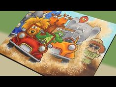 Safari Race card: how many animals fit in a land cruiser? - YouTube
