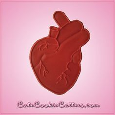 View Anatomical Heart Cookie Cutter in detail