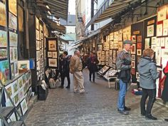 Rue du Tresor, oldest street in Quebec City: Old City section of Quebec City and you come upon this block-long lane of stands and racks displaying truly high-quality works of art by local artisans. It's a treat to spend some time browsing the artwork, much like visiting a high end art gallery, and talking with the artists. It's well worth looking for and allotting some time for the visit.