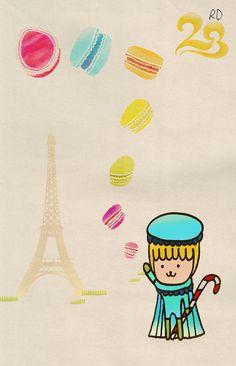 Draw : 23RD : Baby Macaron