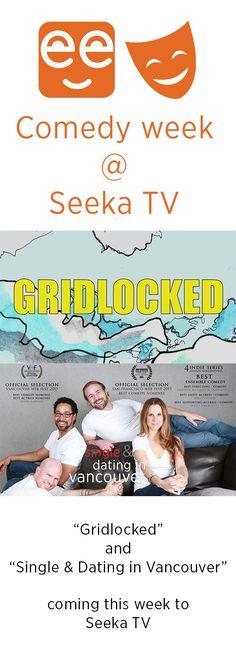 We have two great new comedies coming to Seeka TV this week! #seekatv #comedy #webseries #SADinVan #gridlocked