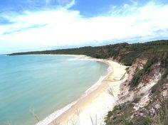 Praia de Juacema, em Caraíva, Porto Seguro (BA)