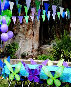 Fairy and pirates party...beautiful!