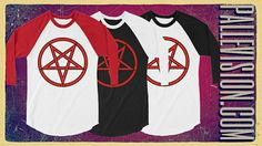 Unisex Fine Jersey Sleeve Raglan Shirt is a stylish spin on the classic baseball raglan. It's super soft, comfortable, and lightweight. Baphomet, Raglan Shirts, Men's Apparel, Dark Side, Spin, Unisex, Baseball, Woman, Stylish