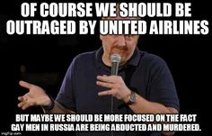 Of course what United Airlines did was unacceptable but maybe...
