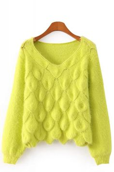 Bright color! #Loose #Sweater