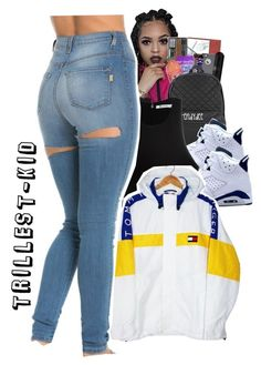 Untitled #115 by trillest-kid on Polyvore featuring polyvore fashion style T By Alexander Wang Tommy Hilfiger Retrò clothing