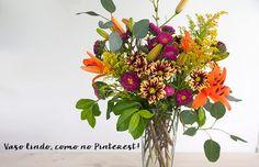 Como montar um vaso de flores perfeito, como os do Pinterest