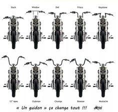 estilos , mesma moto