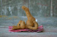 Bear Creek Bunny Yoga by Teresa Perleberg
