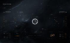 Starcitizen app ui concept on Behance