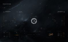 Starcitizen app ui concept on Behance