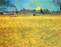 Sera d'estate ad Arles (1888)