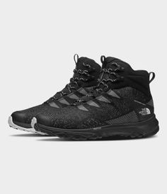Men's Ultra Fastpack IV Mid FUTURELIGHT™ Shoes   The North Face Best Trail Running Shoes, Hiking Shoes, Nike Boots Mens, Tactical Wear, Mens Back, Mens Boots Fashion, Waterproof Boots, Leather Boots, All Black Sneakers