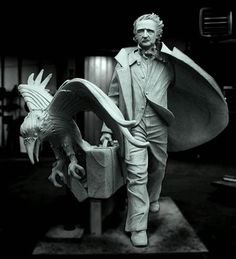 Statue of Edgar Allan Poe With a Giant Raven Will Be Unveiled in Boston in October 2014