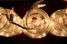 Entertain With: Twinkle Lights in Jars