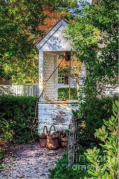 Water Well Colonial Williamsburg Virginia by Karen Jorstad