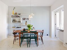 A cool Funkis style apartment in Gothenburg - my scandinavian home