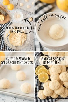 A bunch of food on a plate, with Cookie and Sugar Chewy Ginger Cookies, Lemon Sugar Cookies, Sugar Cookie Dough, Chocolate Chunk Cookies, Sugar Cookies Recipe, Yummy Cookies, Cookie Recipes, Just Desserts, Delicious Desserts