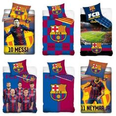 Official Fc Barcelona Single Duvet Covers Bedding Bedroom Football