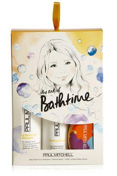 #paulmitchell #hair #kids #shampoo #conditioner #hairbrush #sarahhankinson #christmas #gift RRP £18.00