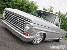 1968 Ford F-100. Just needs some classic wheels to replace those ugly rims.
