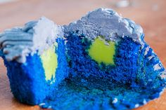 #Seattle Seahawks Cupcake Recipe