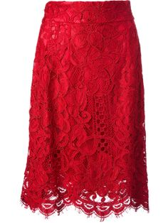 Dolce & Gabbana lace skirt #wonderfulstore #farfetch #PinToWin @Farfetch
