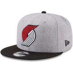 competitive price 99ee2 44db0 Men s Portland Trail Blazers New Era Heathered Gray NBA 2-Tone 9FIFTY  Snapback Adjustable Hat,  29.99