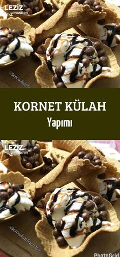 Kornet Külah Yapımı - and drink chia seeds food and drink dinner food and drink low carb food and drink menu food and drink pictures food and drink recipes food and drink thanksgiving Nutella, Food Vocabulary, Kegel, Non Stick Pan, Dessert Recipes, Desserts, Drink Recipes, Food Design, Food Lists