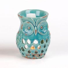 Turquoise Owl Wax Warmer | Kirklands