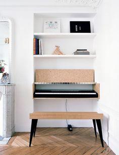 Best Home Studio Piano Living Rooms Ideas Piano Living Rooms, Living Room Decor, Living Spaces, Piano Desk, Piano Room, Sinnerlig Ikea, Music Corner, Interiores Design, Home Goods