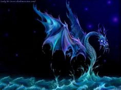 Today marks the day of the year of the Water Dragon. (I was actually born on the year of the Fire Dragon. Dragon Pet, Water Dragon, Blue Dragon, Magical Creatures, Fantasy Creatures, Fairytale Creatures, Sea Creatures, Dragon Oriental, Mythical Dragons