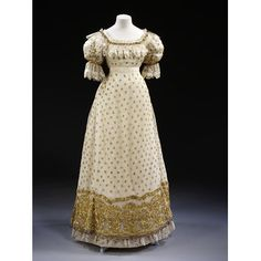ca.1820  - Great Britain Ball gown   V&A Search the Collections