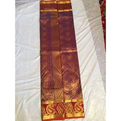 """These sarees are made in pure silk and come straight from the weaver family in Kanchipuram. The blouse piece is attached to the saree. The zari in use is """"tested"""" zari. Latest Silk Sarees, Pure Silk Sarees, Saree Wedding, Indian, Pure Products, Orange, Purple, Fashion, Moda"""