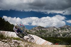 PotD: February 22 2016 Title: Downhill riding Photographer: Jarrod Moore @JRMJarrod  The mountain tops of Slovenia have some fantastic downhill riding paths. During the summer riders come from all over to tackle the tricky courses down the mountain. by officialfstoppers