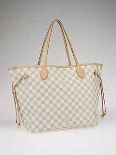 there's something so fresh about this checkered logo fabric, and the shape of the bag is divine.