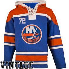 Men's New York Islanders Old Time Hockey Royal Blue Home Lace Heavyweight Hoodie