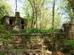 Witches Castle, Utica Indiana Magick, Witchcraft, Witches Castle, Haunted Places, Cauldron, Book Of Shadows, Pagan, Indiana, Plants
