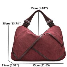 High-quality Canvas Portable Flower Design Big Handbags Crossbody Bags - NewChic Mobile.