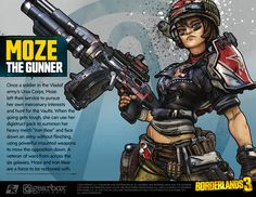 Check out Borderlands vault hunters and win with your best cosplay Borderlands Series, Tales From The Borderlands, Iron Man Memes, London In October, Stuff And Thangs, Face Down, Video Game Characters, Mad Max, Doll Repaint