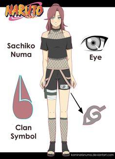 Naruto OC: Sachiko Numa by kaminariXnuma.deviantart.com on @deviantART