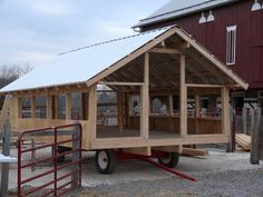 Being a pastured-based, grass-fed operation has many advantages in terms of protection of the environment, healthiness of our meats, sust. Mobile Chicken Coop, Backyard Chicken Coops, Chicken Coop Plans, Building A Chicken Coop, Chickens Backyard, Chicken Feeders, Hoop House Chickens, Chicken Pen, Farm Chicken